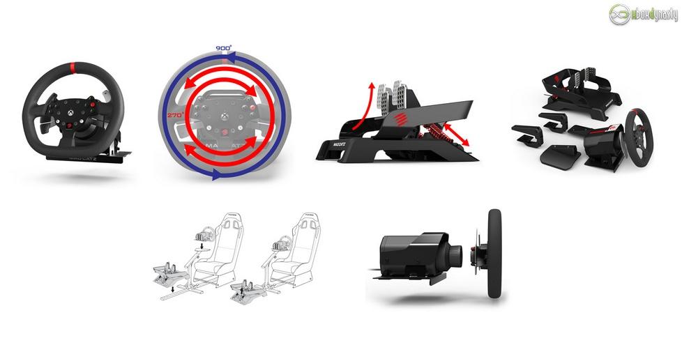 mad catz pro racing force feedback lenkrad unboxing video. Black Bedroom Furniture Sets. Home Design Ideas