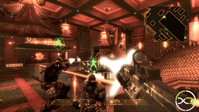 Rainbow Six Vegas Multiplayer Action