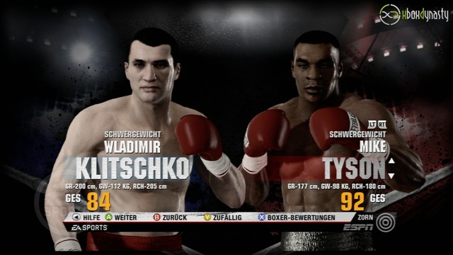 Mike Tyson Vs Klitschko