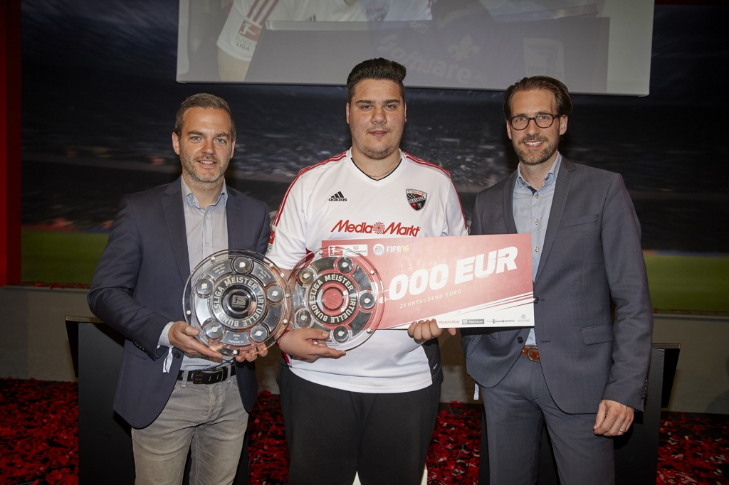 Daniel Butenko holt sich den VBL-Meistertitel 2016