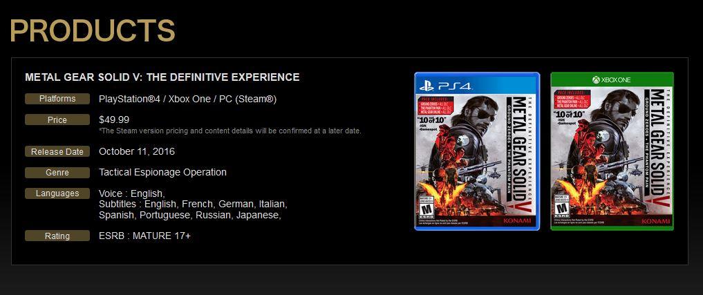 The Definitive Experience Edition erscheint im Oktober